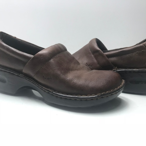 33ae572c1d66 boc Shoes | Womens Brown Slip On Comfort Clogs Size 8 M | Poshmark